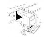 Встраиваемая морозильная камера, монтаж под столешницу, 60 см, Белый Smeg UD7108FSEP