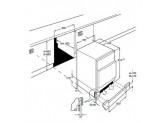 Встраиваемый холодильник под столешницу, 60 см, Белый Smeg UD7140LSP