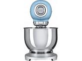 Планетарный миксер, мощность 0,8 кВт, объем чаши 4,8л, Голубой Smeg SMF01PBEU