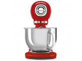 Планетарный миксер, мощность 0,8 кВт, объем чаши 4,8 л, Красный Smeg SMF03RDEU