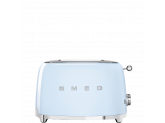 Тостер на 2 ломтика, Голубой Smeg TSF01PBEU