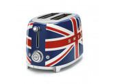 Тостер на 2 ломтика, Британский флаг Smeg TSF01UJEU
