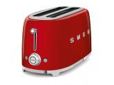 Тостер на 4 ломтика, Красный Smeg TSF02RDEU