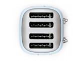 Тостер на 4 ломтика, Голубой Smeg TSF03PBEU