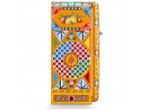 Отдельностоящий однодверный холодильник, стиль 50-х годов, 60 см, Dolce & Gabbana Smeg FAB28RDGC3