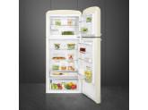 Отдельностоящий двухдверный холодильник, стиль 50-х годов, 80 см, Кремовый Smeg FAB50RCR5