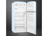 Отдельностоящий двухдверный холодильник, стиль 50-х годов, 80 см, Голубой Smeg FAB50RPB5