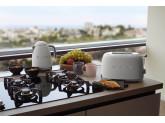 Чайник электрический, объем 1,7 л, Белый матовый Smeg KLF03WHMEU
