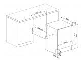 Встраиваемая стиральная машина с сушкой, 60 см, Белый Smeg LSIA127