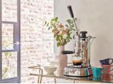 Леверная кофемашина-эспрессо, Нержавеющая сталь Smeg LPLPLQ01EU