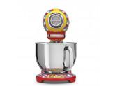 Планетарный миксер, мощность 0,8 кВт, объем чаши 4,8л, Dolce & Gabbana Smeg SMF03DGEU
