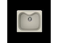 Композитная мойка,, Цвет, Кремовый (GRANITEK) Smeg LSE58P