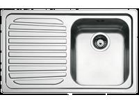 Мойка необорачиваемая, крыло слева, Нержавеющая сталь Smeg SP791S-2