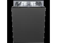 Полностью встраиваемая посудомоечная машина, 60 см, Чёрный Smeg ST512
