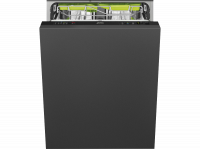Полностью встраиваемая посудомоечная машина, 60 см, Чёрный Smeg ST65336L