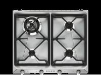 Газовая варочная панель, 60 см Smeg SR964XGH