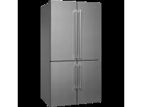 Отдельностоящий 4-х дверный холодильник Side-by-Side, Нержавеющая сталь Smeg FQ60XP