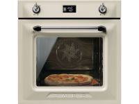 Многофункциональный духовой шкаф с функцией пиролиза, 60 см, Кремовый Smeg SFP6925PPZ