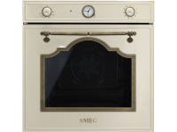 Многофункциональный духовой шкаф, 60 см, Кремовый Smeg SFP750PO