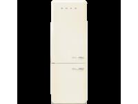 Отдельностоящий двухдверный холодильник, стиль 50-х годов, 70 см, Кремовый Smeg FAB38LCR