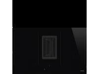 Индукционная варочная панель со встроенной вытяжкой, 83 см, Чёрный Smeg HOBD482D