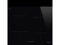 Индукционная варочная панель, 60 см, Чёрный Smeg SI4642D