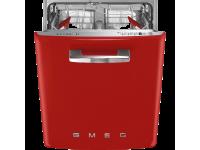 Встраиваемая посудомоечная машина, Стиль 50-х, 60 см, Красный Smeg ST2FABRD2
