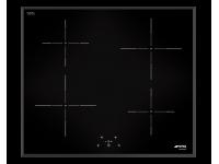 Индукционная варочная панель, 58 см, Чёрный Smeg SI5643B