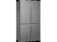 Отдельностоящий 4-х дверный холодильник Side-by-Side, Нержавеющая сталь Smeg FQ60XF