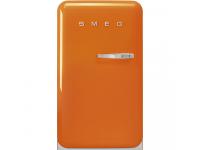 Отдельностоящий однодверный холодильник, стиль 50-х годов, 54,5 см, Оранжевый Smeg FAB10LOR5