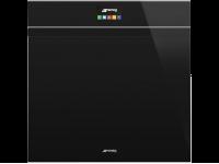 Многофункциональный духовой шкаф с функцией пиролиза, 60 см, Чёрный Smeg SFP6604PNXE