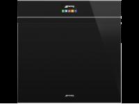Многофункциональный духовой шкаф с функцией пиролиза, 60 см, Чёрный Smeg SFP6604PNRE