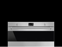 Многофункциональный духовой шкаф с пиролизом, 90 см, Нержавеющая сталь Smeg SFPR9395X