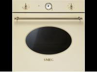 Многофункциональный духовой шкаф, 60 см, Кремовый Smeg SFT805PO