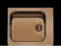 Мойка, Нержавеющая сталь с PVD-покрытием, Медный Smeg VS45P3RA