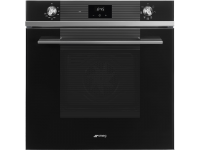 Многофункциональный духовой шкаф, 60 см, Черный Smeg SF6100VN1