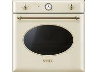 Многофункциональный духовой шкаф, 60 см, Кремовый Smeg SF855PO