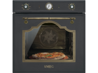 Многофункциональный духовой шкаф с функцией пиролиза и функцией пицца, 60 см, Антрацит Smeg SFP750AOPZ