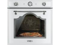 Многофункциональный духовой шкаф с функцией пиролиза и функцией пицца, 60 см, Белый Smeg SFP750BSPZ