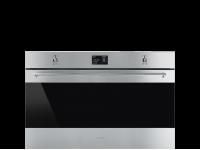Многофункциональный духовой шкаф с пиролизом, 90 см, Нержавеющая сталь Smeg SFP9395X