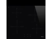 Индукционная варочная панель, 60 см, Черный Smeg SI2641D