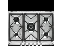Газовая варочная панель, 70 см, Нержавеющая сталь Smeg SR975XGH