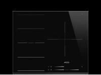 Индукционная варочная панель, 60 см, Чёрный Smeg SI1F7635B