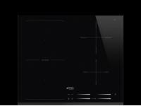 Индукционная варочная панель, 60 см, Чёрный Smeg SI1M7643B