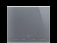 Индукционная варочная панель, 60 см, Серебристый Smeg SIM1643DS