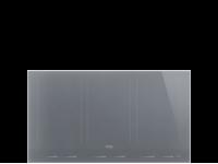 Индукционная варочная панель, 90 см, Серебристый Smeg SIM1963DS