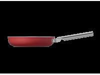 Сковорода 30 см, Красная Smeg CKFF3001RDM