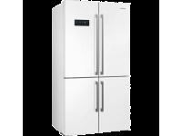 Отдельностоящий 4-х дверный холодильник Side-by-Side, Белый Smeg FQ60BDF