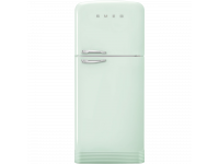 Отдельностоящий двухдверный холодильник, стиль 50-х годов, 80 см, Зеленый Smeg FAB50RPG5