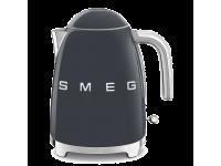 Чайник электрический, объем 1,7 л, Серый Smeg KLF03GREU